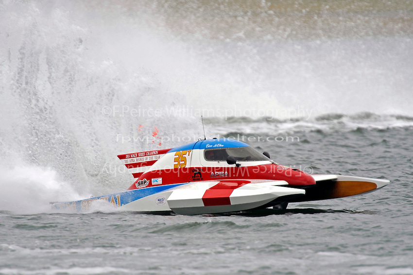 "Ciara McClure, T-35 ""TM Special""` (1.5 Litre Stock hydroplane(s)"