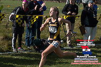Mizzou junior Karissa Schweizer sprints to victory in the Women's 6k at the 2016 NCAA Division I Cross Country Midewest Regional in Iowa City, Ia. Friday, November 11. Scheizer won the 6k race in 19:54 to lead the Mizzou women to the team victory and qualify them for their first NCAA National Championship Meet since 2004.