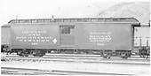 Baggage #126 built by D&amp;RG in 1883 as #27.  Renumbered in September 1886.<br /> D&amp;RGW  Salida, CO  Taken by Axt, Vernon - 7/1940