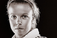 Jackson is a central midfielder who has played for Melbourne Victory since Season 3 of the W-League. A creative force in the middle of the park, she is capable of scoring goals as well as assisting them. //  Despite spending most of the off-season in 2012 recovering from a broken arm, the 25 year old managed to recover in time and featured in the Buroondara Eagles squad in the later part of the Victorian state league season. //  (Copyright Photo Sydney Low. Text Zee Ko)