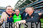 Jimmy Keane Brosna celebrates after winning the Junior Football All Ireland Club Final in Croke Park on Saturday.