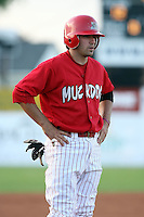 June 23rd 2008:  Infielder Colt Sedbrook (2) of the Batavia Muckdogs, Class-affiliate of the St. Louis Cardinals, during a game at Dwyer Stadium in Batavia, NY.  Photo by:  Mike Janes/Four Seam Images