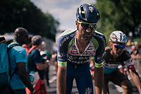 Guillaume Van Keirsbulck (BEL/Wanty-Groupe Gobert) rolling in post-finish<br /> <br /> Stage 9: Arras Citadelle &gt; Roubaix (154km)<br /> <br /> 105th Tour de France 2018<br /> &copy;kramon