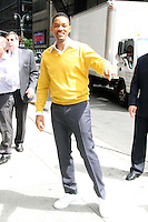 May 22, 2012 Will Smith at Late Show with David Letterman in New York City. © RW/MediaPunch Inc.