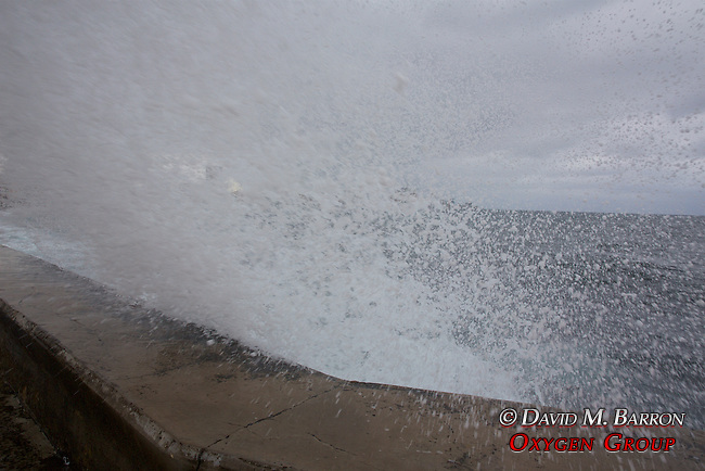 Wave At Castillo de San Salvador de la Punta
