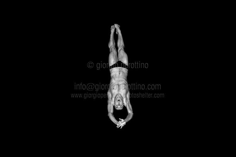 Jevgenij Korolijov (BLR)<br /> Swimming European Championships Budapest 2010<br /> Diving 3m springboard Men heats<br /> Budapest (Hungary), 13/08/2010<br /> © Giorgio Perottino