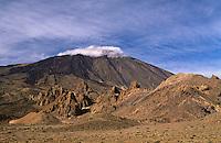 Spanien, Kanarische Inseln, Teneriffa, Teide, Unesco-Weltkulturerbe