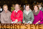 Mary Meehan, Ann Sinnott, Noreen Nolan, Maureen Guerin enjoying Kerry Choral Union with  Junior Choir at a  St Patrick's Weekend concert in aid of Recovery Haven, Kerry Cancer Support House at St. Brendan's Church Tralee on Sunday