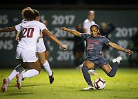 Stanford, CA - October 3, 2019: Kiki Pickett at Laird Q Cagan Stadium. The Stanford Cardinal beat the Washington State Cougars 5-0.