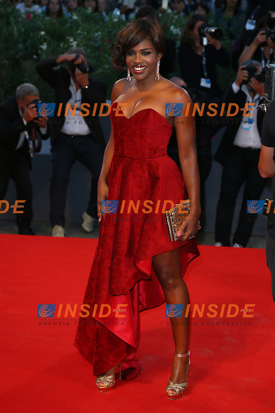 VENICE, ITALY - SEPTEMBER 10: Edwina Findley attends 'Remember' Red Carpet during 72nd Venice Film Festival at Palazzo Del Cinema on September 3, 2015 in Venice, Italy. (Mark Cape/insidefoto)