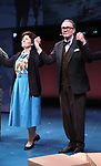 """Debra Monk and Boyd Gaines from  """"Mrs. Miller Does Her Thing""""  at the Signature Theatre on March 18, 2017 in Arlington, Virginia."""