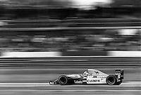Pix:Michael Steele/SWpix... Formula One. Nigel Mansell, Silverstone, 1989...COPYRIGHT PICTURE>>SIMON WILKINSON..Nigel Mansell, Silverstone.