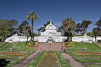 Conservatory of Flowers, Golden Gate Park, The oldest conservatory in the wesern hemisphere,.San Francisco, California.Conservatory of Flowers, Golden Gate Park, The oldest conservatory in the wesern hemisphere,.San Francisco, California