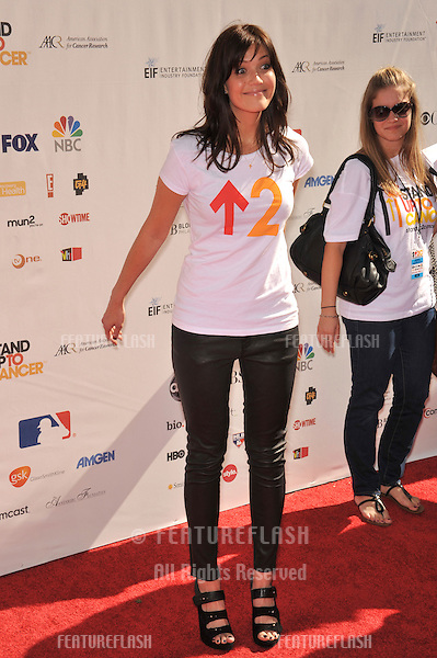 Mandy Moore at the Stand Up To Cancer event at Sony Pictures Studios, Culver City..September 10, 2010  Culver City, CA.Picture: Paul Smith / Featureflash