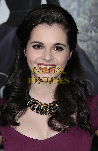 "Vanessa Marano.""Beautiful Creatures"" Los Angeles Premiere held at the TCL Chinese Theatre, Hollywood, California, USA, .6th February 2013..portrait headshot gold necklace purple .CAP/ADM/RE.©Russ Elliot/AdMedia/Capital Pictures."