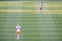 Sky Blue's Christie Shaner (18-l) and Rosana (r).The LA Sol defeated Sky Blue FC 1-0 at Home Depot Center stadium in Carson, California on Friday May 15, 2009.   .