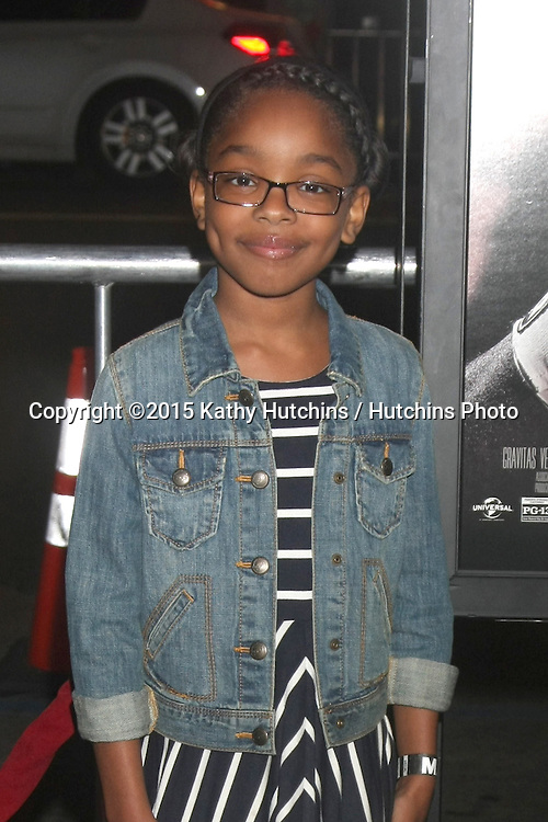 "LOS ANGELES - JAN 20:  Marsai Martin at the ""Manny"" Los Angeles Premiere at a TCL Chinese Theater on January 20, 2015 in Los Angeles, CA"
