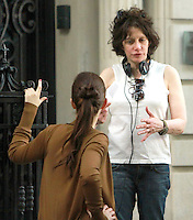 August 17, 2012 Director Amy Heckerling shooting on location for Gossip Girl in New York City. &copy; RW/MediaPunch Inc. /NortePhoto.com<br />