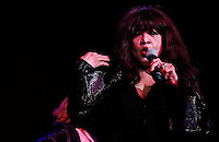 CLEVELAND - MAY 14:  Ronnie Spector performs during the Rock and Roll Hall of Fame 'It's Only Rock And Roll' benefit concert and Women Who Rock exhibit opening concert at the Cleveland Convention Center on Saturday May 14, 2011 in Cleveland, Ohio.  (Photo by Jared Wickerham/Jared Wickerham/Getty Images for Rock and Roll Hall of Fame and Museum)