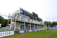 General view of the Leslie Ames stand ahead of Kent Spitfires vs Essex Eagles, Royal London One-Day Cup Cricket at the St Lawrence Ground on 17th May 2017
