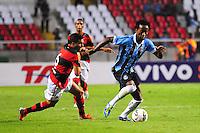 ATENCAO EDITOR: FOTO EMBARGADA PARA VEÍCULOS INTERNACIONAIS. - RIO DE JANEIRO, RJ, 16 DE SETEMBRO DE 2012 - CAMPEONATO BRASILEIRO - FLAMENGO X GREMIO - Ze Roberto, jogador do Gremio, durante partida contra o Flamengo, pela 25a rodada do Campeonato Brasileiro, no Stadium Rio (Engenhao), na cidade do Rio de Janeiro, neste domingo, 16. FOTO BRUNO TURANO BRAZIL PHOTO PRESS