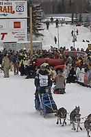 Rick Casillo Willow restart Iditarod 2008.