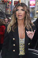 November 06 2018 Teresa Giudice at Good Morning America  to talk about new season of Real Housewives of New Jersey  in New York November 06, 2018 <br /> CAP/MPI/RW<br /> &copy;RW/MPI/Capital Pictures