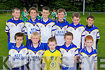 The Keel team in the u10 Mid Kerry blitz in Beaufort on Saturday front row l-r: eoin Foley, Lachlan Griffin, Conor O'Dowd, Oran hillard, Diarmuid Kelliher. Back row: Dean Ladden, Anthony O'Shea, Sean Langford, Sean Evans, Darragh O'Dowd, Killian Murphy