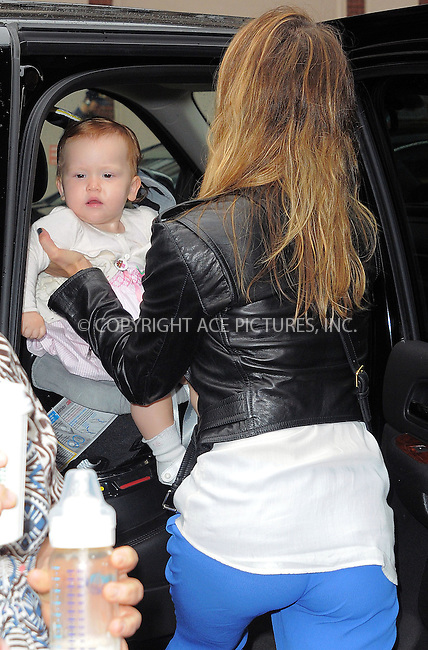 WWW.ACEPIXS.COM ************....October 4 2012, New York City....Actress Jessica Alba leaves her Soho hotel with her daughter Haven on October 4 2012 in New York City....Please byline: CURTIS MEANS - ACE PICTURES.. *** ***  ..Ace Pictures, Inc:  ..tel: (646) 769 0430..e-mail: info@acepixs.com..web: http://www.acepixs.com