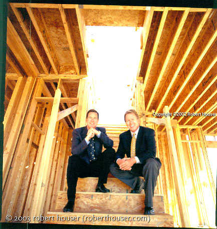 Michael McGee - President, CEO and Hal Struck - Executive VP - - Pardee Construction, editorial, portrait