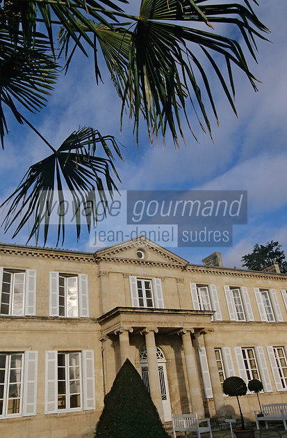 Europe/France/Aquitaine/33/Gironde/Saint-Julien: château Branaire Ducru (AOC Saint-Julien)