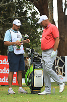 Thomas Bjorn (DEN) during the second round of the Magical Kenya Open presented by ABSA played at Karen Country Club, Nairobi, Kenya. 15/03/2019<br /> Picture: Golffile | Phil Inglis<br /> <br /> <br /> All photo usage must carry mandatory copyright credit (&copy; Golffile | Phil Inglis)
