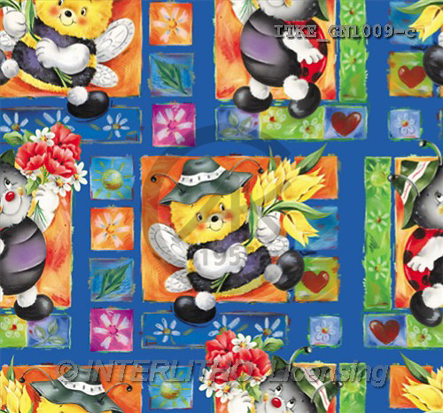 Isabella, GIFT WRAPS, paintings(ITKEGN1009-c,#GP#) everyday