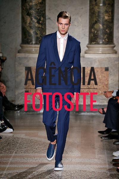 Milao, Italia &ndash; 06/2014 - Desfile de Ports 1961 durante a Semana de moda masculina de Milao - Verao 2015. <br /> Foto: FOTOSITE