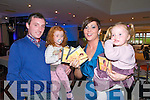 "CD Launch : Pictured at the launch of her CD ""My Story"" by Elaine Foley at the Listowel Arms Hotel on Friday night last were Enda & Hannah Scarlett, Elaine Foley & Enya Scarlett."
