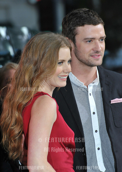 "Amy Adams & Justin Timberlake at the premiere of their movie ""Trouble With The Curve"" at the Mann Village Theatre, Westwood..September 19, 2012  Los Angeles, CA.Picture: Paul Smith / Featureflash"