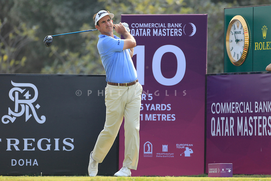 Gonzalo Fernandez Castano (ESP) during the second round of the Commercial Bank Qatar Masters played at Doha Golf Club, Qatar. 23/02/2018<br /> Picture: Golffile | Phil Inglis<br /> <br /> <br /> All photo usage must carry mandatory copyright credit (&copy; Golffile | Phil Inglis)