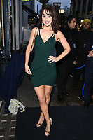 Hayley Sparkes arriving for James Ingham's Jog on to Cancer 2018 at Cafe de Paris, London, UK. <br /> 04 April  2018<br /> Picture: Steve Vas/Featureflash/SilverHub 0208 004 5359 sales@silverhubmedia.com