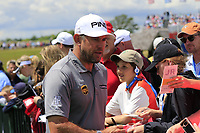 Lee Westwood (ENG) after finishing his match during Sunday's Final Round of the 117th U.S. Open Championship 2017 held at Erin Hills, Erin, Wisconsin, USA. 18th June 2017.<br /> Picture: Eoin Clarke | Golffile<br /> <br /> <br /> All photos usage must carry mandatory copyright credit (&copy; Golffile | Eoin Clarke)