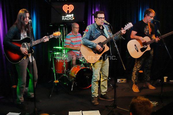 BALA CYNWYD, PA - JULY 5 :  Weezer visit Radio 104.5 performance studio in Bala Cynwyd, Pa on July 5, 2016  photo credit Star Shooter / MediaPunch