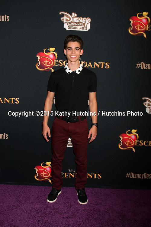 "LOS ANGELES - JUL 24:  Cameron Boyce at the ""Descendants"" Premiere Screening at the Walt Disney Studios on July 24, 2015 in Burbank, CA"