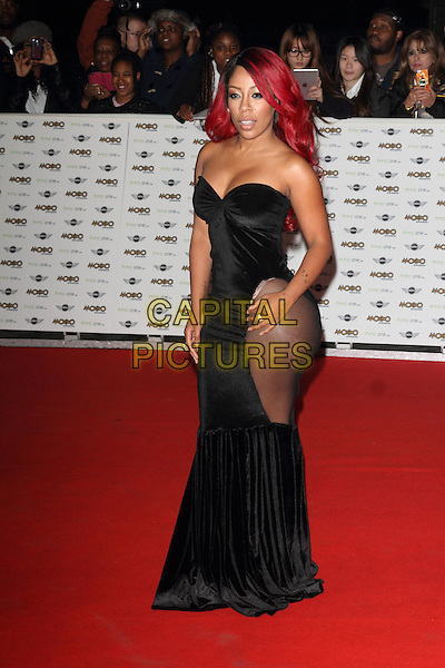 LONDON, ENGLAND - OCTOBER 22: K Michelle attends the MOBO Awards at SSE Arena on October 22, 2014 in London, England. <br /> CAP/ROS<br /> &copy;Steve Ross/Capital Pictures