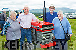 Mary O'Sullivan, Denis Buckley, Denis O'Sullivan and Margaret Buckley with their Massey Ferguson 125 at the Cullen Vintage Rally and Trashing on Sunday