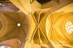 Nave Ceiling, Santa Maria de Gracia, Cathedral, Cuenca, Spain