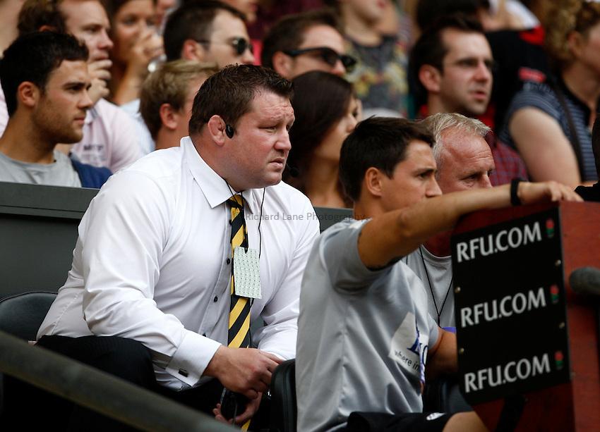 Photo: Richard Lane/Richard Lane Photography. Saracens v London Wasps. Aviva Premiership. 03/09/2011. Wasps' Director of Rugby, Dai Young.