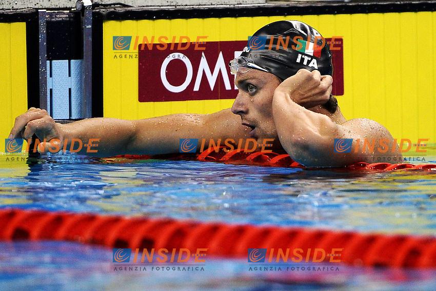 Luca DOTTO Italia.Men's 100m Freestyle - Swimming / Nuoto.Shanghai 27/7/2011 .14th FINA World Championships.Foto Andrea Staccioli Insidefoto