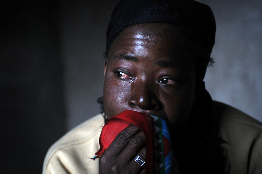 DALITSO LEONARD, 28, WHO WAS HELPED BY THE GOOD SAMARITAN PROJECT IN HER VILLAGE OF LUCHENZA, MALAWI, DESCRIBING HOW SHE TRIED TO COMMIT SUICIDE WHEN SHE WAS ABANDONED BY HER HUSBAND AND FAMILY ON ACCOUNT OF HER  HIV STATUS. PICTURE BY CLARE KENDALL. 2/11/12
