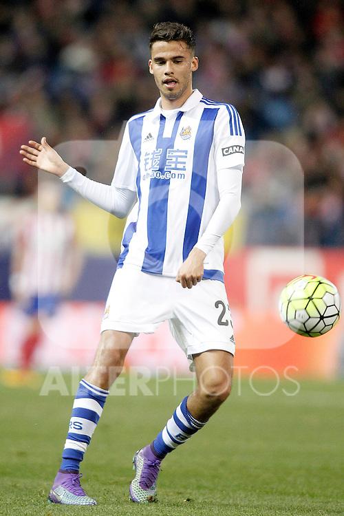 Real Sociedad's Diego Reyes during La Liga match. March 1,2016. (ALTERPHOTOS/Acero)