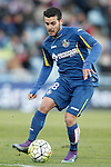 Getafe's Victor Rodriguez during La Liga match. February 27,2016. (ALTERPHOTOS/Acero)