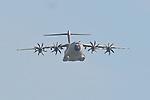 10.06.2010, ILA Internationalen Luftfahrt-Ausstellung ,Flughafen Schönefeld Berlin, GER, im Bild Militärtransporter A-400M von Airbus Military Foto © nph / Hammes